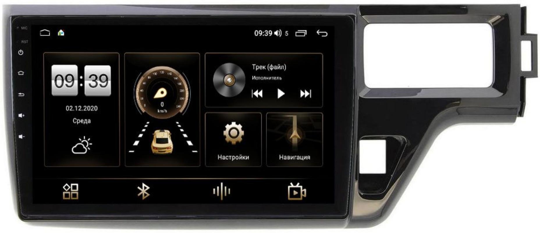 Штатная магнитола LeTrun 4195-1099 для Honda Stepwgn V 2015-2021 на Android 10 (6/128, DSP, QLed) С оптическим выходом (+ Камера заднего вида в подарок!)
