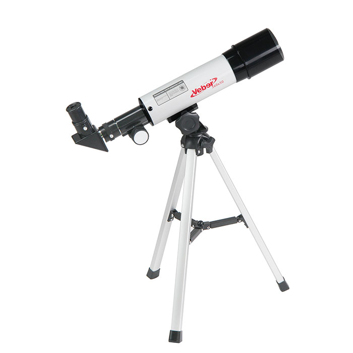 Картинка для Телескоп Veber 360/50 AZ, в кейсе (+ Книга «Космос. Непустая пустота» в подарок!)