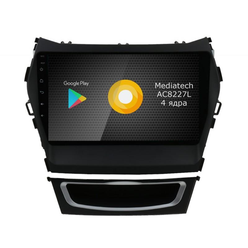 Фото - Штатная магнитола Roximo S10 RS-2019 для Hyundai SantaFe 3 / ix45 (Android 9) (+ Камера заднего вида в подарок!) видео