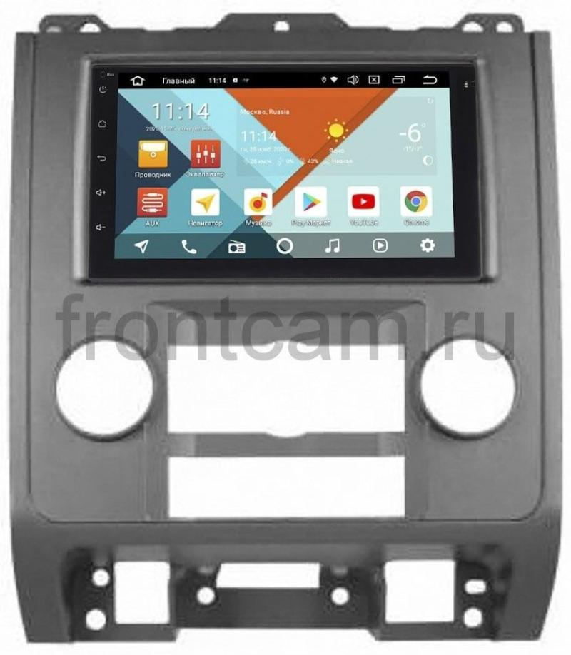 Магнитола в штатное место 2 din Ford Escape II 2007-2012 Wide Media KS7001QR-3/32-RP-FRESB-89 на Android 10 (API 29) (DSP CarPlay 4G-SIM) (+ Камера заднего вида в подарок!)