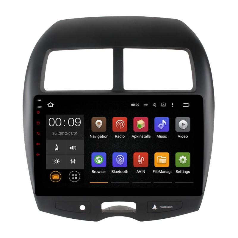 Штатная магнитола Roximo 4G RX-2614 для Mitsubishi ASX (Android 6.0) m8 fully loaded xbmc amlogic s802 android tv box quad core 2g 8g mali450 4k 2 4g 5g dual wifi pre installed apk add ons