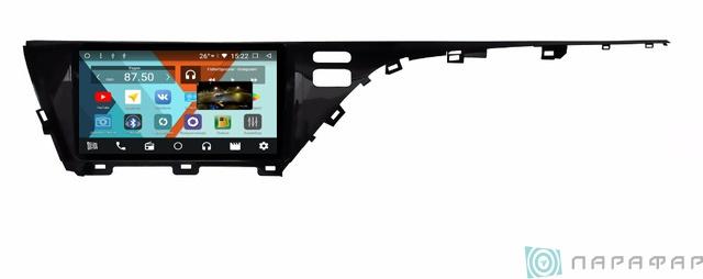 Штатная магнитола Parafar с IPS матрицей для Toyota Camry v70 2018+ на Android 8.1.0 (PF465K) штатная магнитола incar tsa 2243 для toyota camry 2014 2015 android 8 0