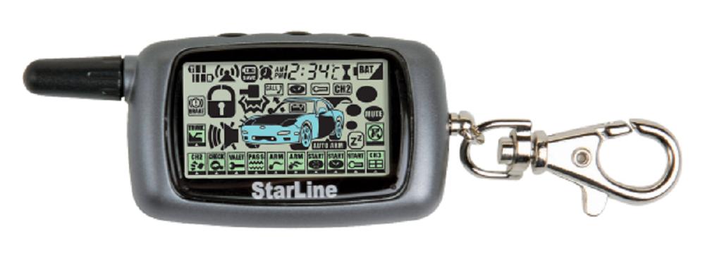 Брелок StarLine A9 ж/к цена