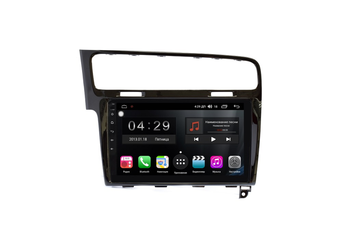 Штатная магнитола FarCar s300-SIM 4G для Volkswagen Golf 7 2013+ на Android (RG257R) (+ Камера заднего вида в подарок!)