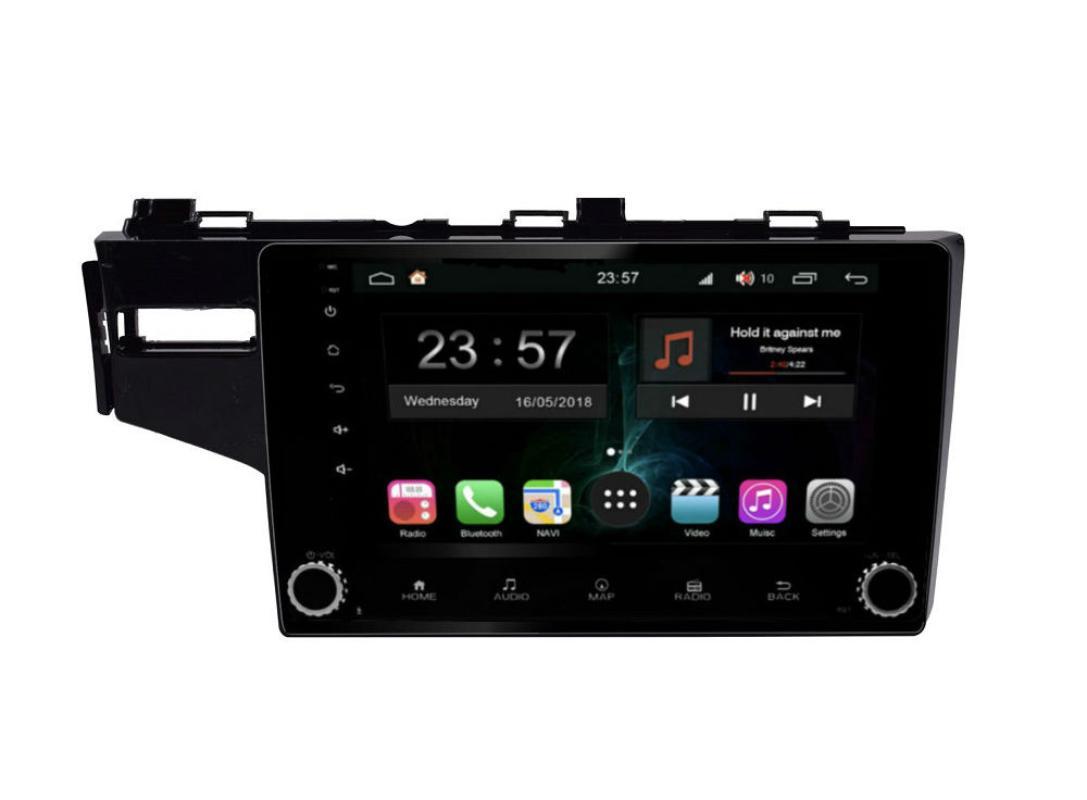 Штатная магнитола FarCar s300-SIM 4G для Honda Fit на Android (RG1185RB) (+ Камера заднего вида в подарок!)