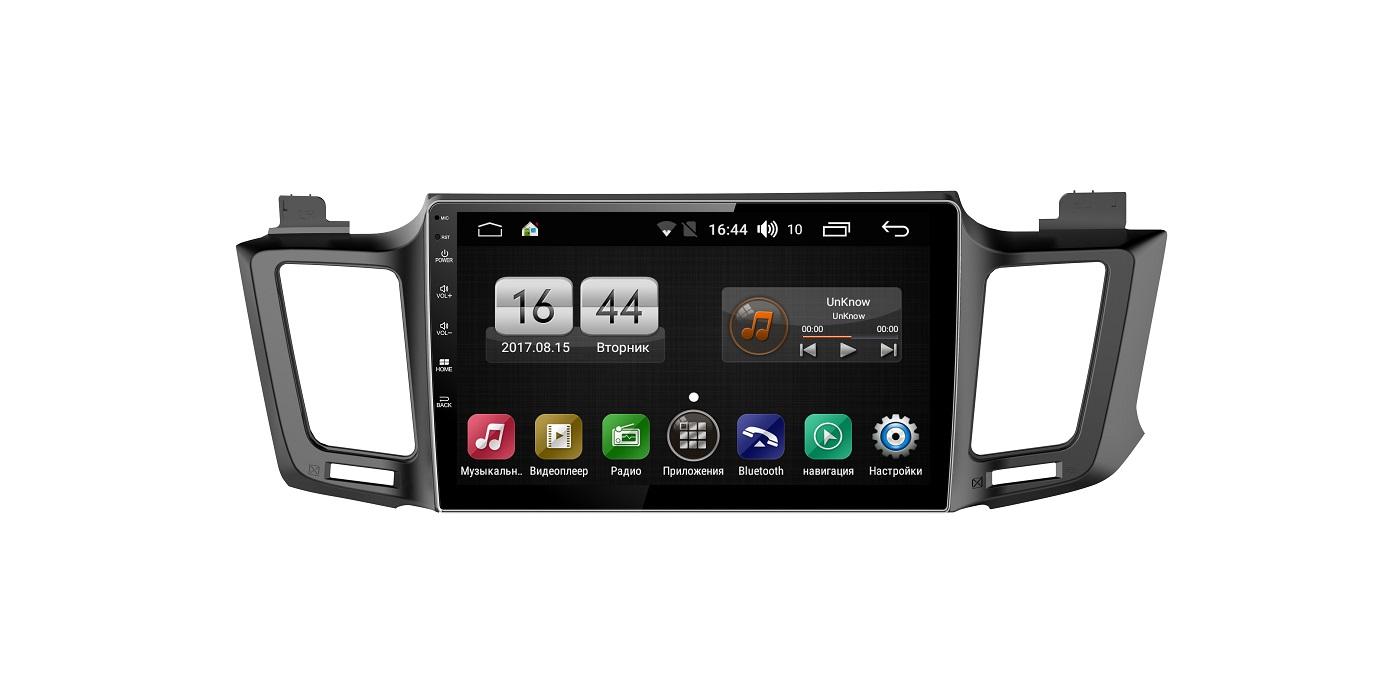 Штатная магнитола FarCar s175 для Toyota Rav4 на Android (L468R) штатная магнитола farcar s175 для toyota camry на android l064r