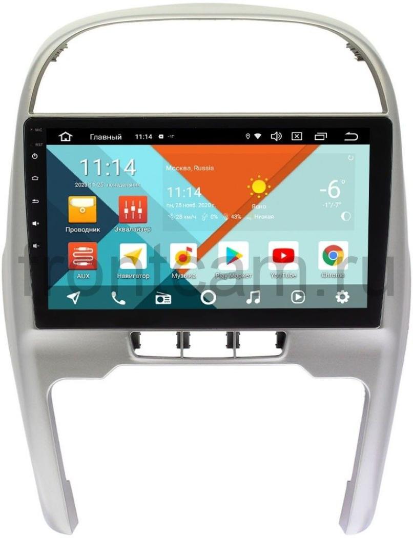 Штатная магнитола Chery Tiggo (T11) 2011-2016 Wide Media KS1124QR-3/32 DSP CarPlay 4G-SIM на Android 10 (API 29) (+ Камера заднего вида в подарок!)