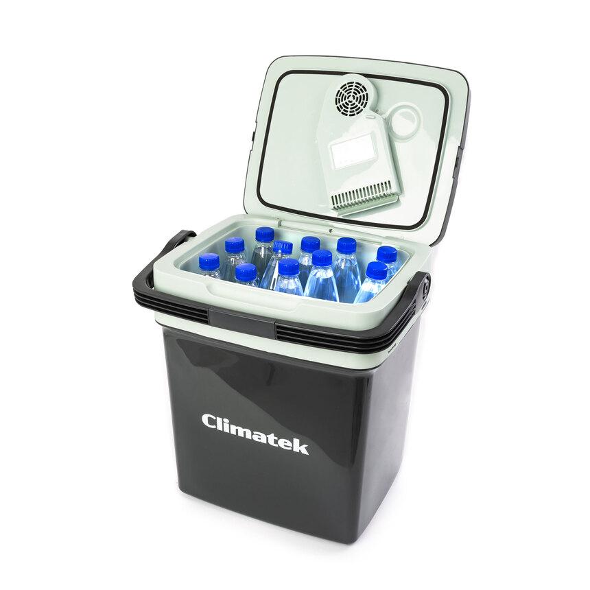 Термоэлектрический автохолодильник Climatek CB-28L AC/DC (28л/12/220В/охлаждение, нагрев) автохолодильник mobicool g26 ac dc