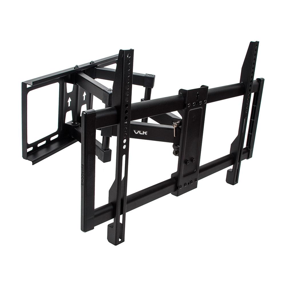 Настенный кронштейн наклонно-поворотный для LED/LCD телевизоров VLK TRENTO-20 BLACK.