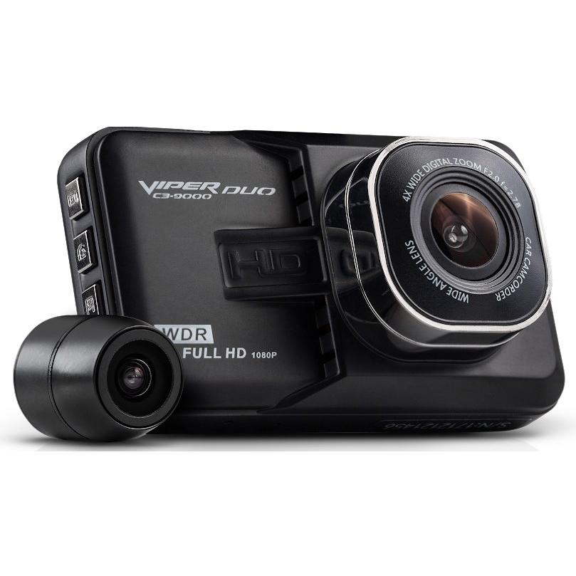 Видеорегистратор VIPER C3-9000 DUO 2 камеры (+ Разветвитель в подарок!)