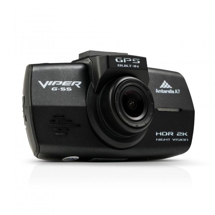 Автомобильный Видеорегистратор VIPER G-55 GPS (+ Антисептик-спрей для рук в подарок!) видеорегистратор viper mini антисептик спрей для рук в подарок