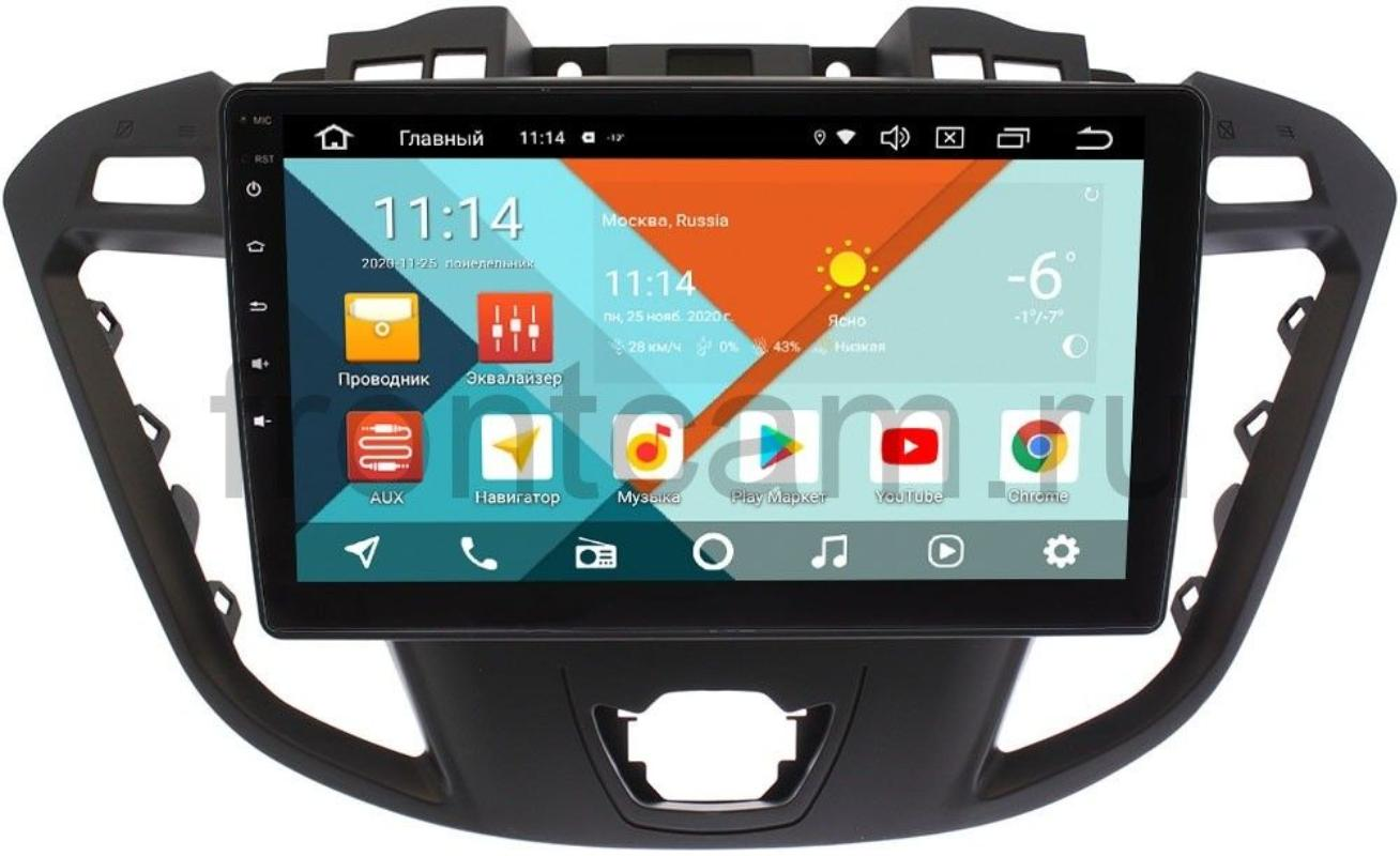 Штатная магнитола Ford Transit, Tourneo Custom 2012-2020 (для компл. с CD) Wide Media KS9178QR-3/32 DSP CarPlay 4G-SIM Android 10 (+ Камера заднего вида в подарок!)