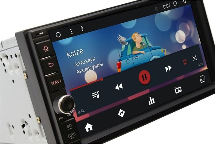 Универсальная магнитола 2 DIN Wide Media WM-VS7A706NB Android 7.1.2 (4 ядра)