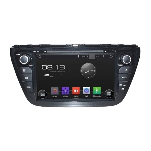Штатная магнитола для Suzuki SX4 2014+ CARMEDIA KD-8073-P3-7 на Android 7.1 geekbox open source cross android
