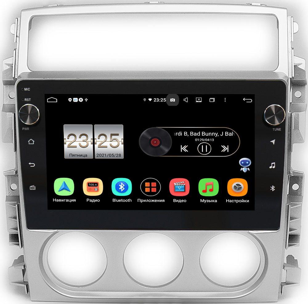 Штатная магнитола LeTrun BPX609-365 для Suzuki Liana (2001-2008) на Android 10 (4/64, DSP, IPS, с голосовым ассистентом, с крутилками) (+ Камера заднего вида в подарок!)
