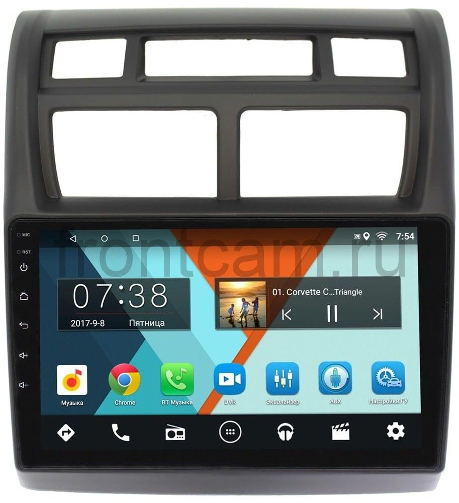 Штатная магнитола Kia Sportage II 2008-2010 Wide Media MT9049MF-2/16 на Android 7.1.1 (+ Камера заднего вида в подарок!)