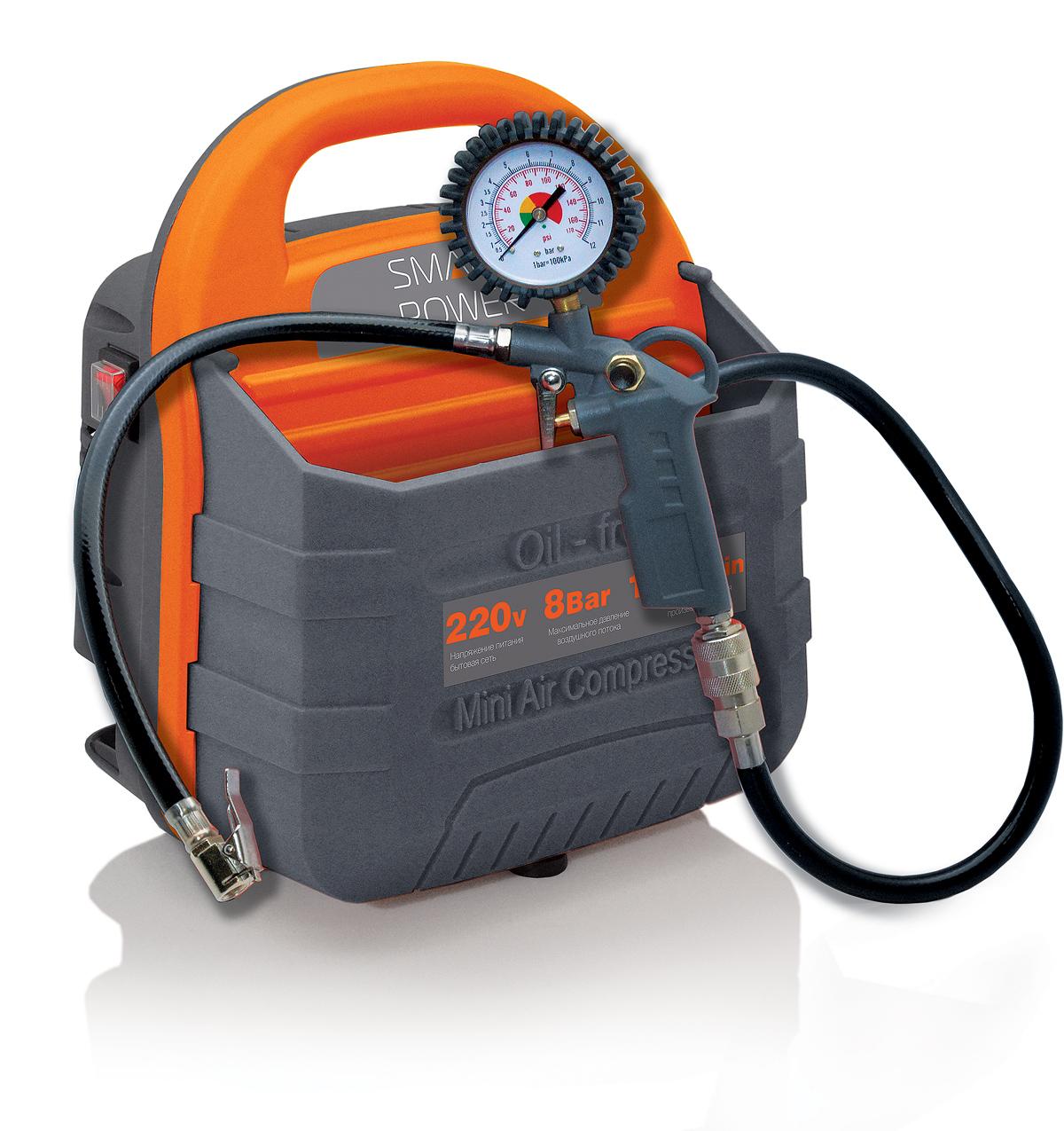 Компрессор универсальный BERKUT SMART POWER SAC-180 мини компрессор komfort kf 1032