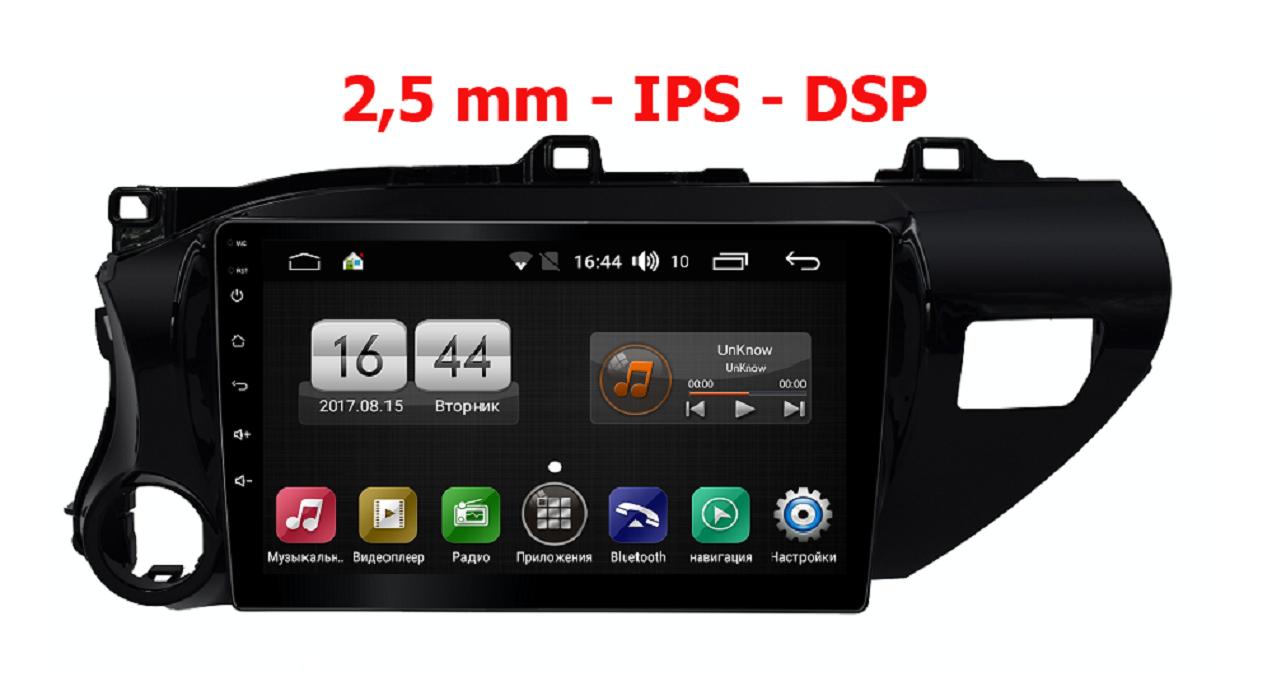 Штатная магнитола FarCar s195 для Toyota Hilux на Android (LX1077R) (+ Камера заднего вида в подарок!)