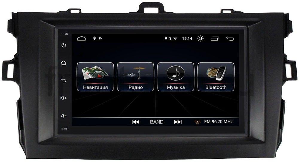 Штатная магнитола LeTrun 2159-RP-TYCV14XB-47 для Toyota Corolla X 2006-2013 Android 8.0.1 MTK-L
