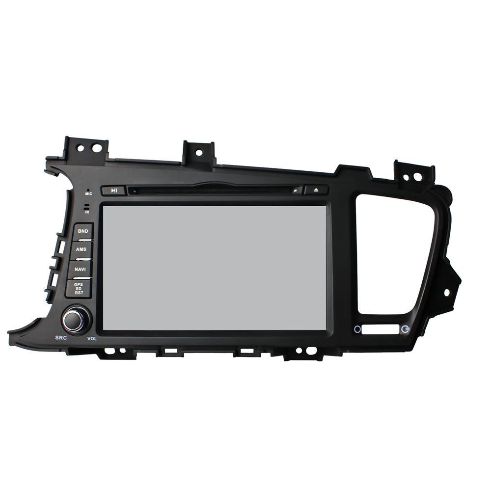Штатная магнитола CARMEDIA KD-8043-P3-7 DVD Kia Optima/K5 2010-2013, дорестайл камера заднего вида для kia и hyundai intro vdc 094 kia k5 2010 2013 kia optima 2010 2012 hyndai i40 2011 2013