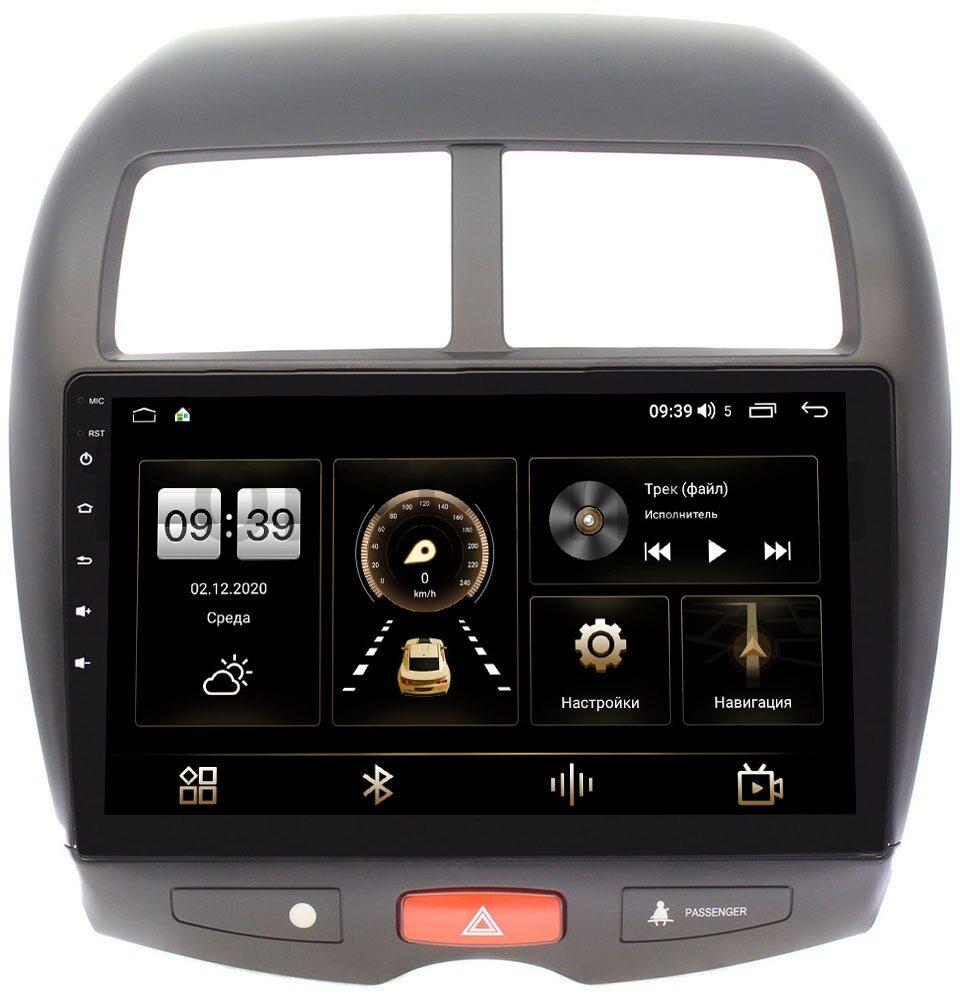 Штатная магнитола LeTrun 3799-1032 для Mitsubishi ASX I 2010-2020 на Android 10 (4/64, DSP, QLed) (+ Камера заднего вида в подарок!)