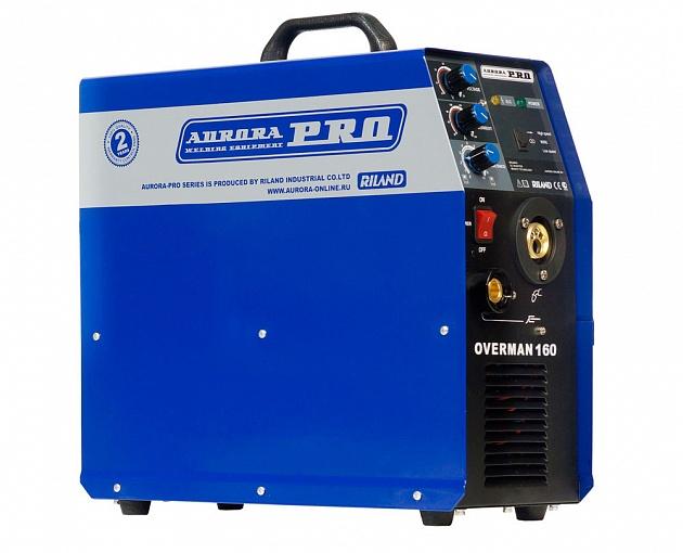 цена на Инверторный сварочный полуавтомат AuroraPRO OVERMAN 160 (MOSFET) (+ Маска с поднимающимся светофильтром в подарок!)