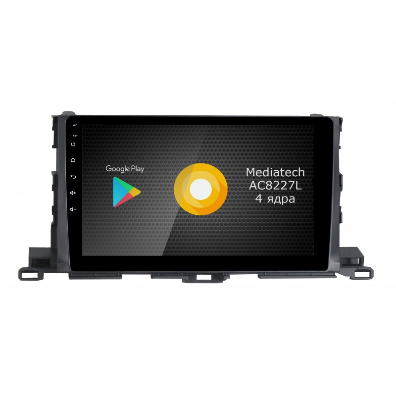 Штатная магнитола Roximo S10 RS-1112 для Toyota Highlander 3 (Android 8.1) (+ Камера заднего вида в подарок!)