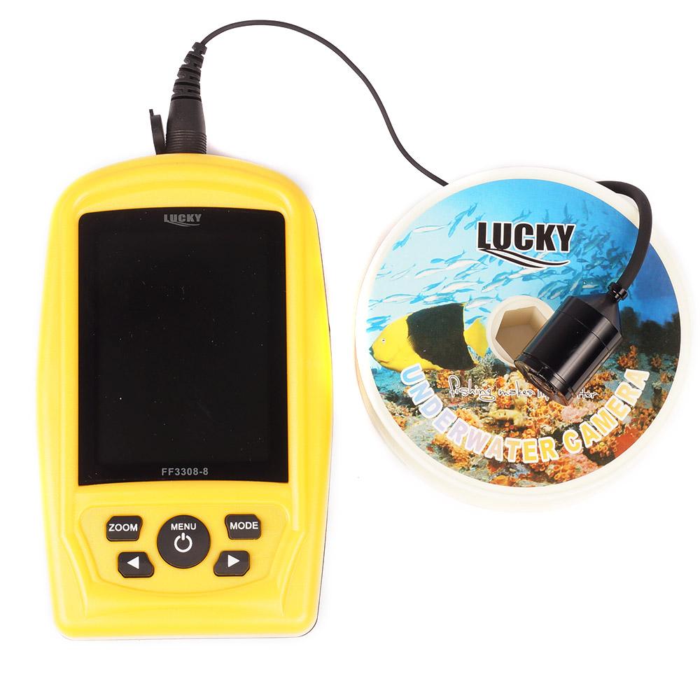 Подводная видеокамера Lucky FF3308-8 NEW (+ Леска в подарок)