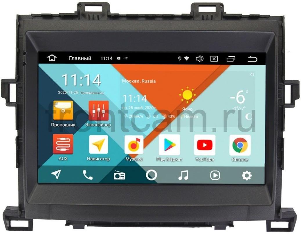 Штатная магнитола Toyota Alphard II, Vellfire I, Estima III Wide Media KS9156QR-3/32 DSP CarPlay 4G-SIM Android 10 (+ Камера заднего вида в подарок!)