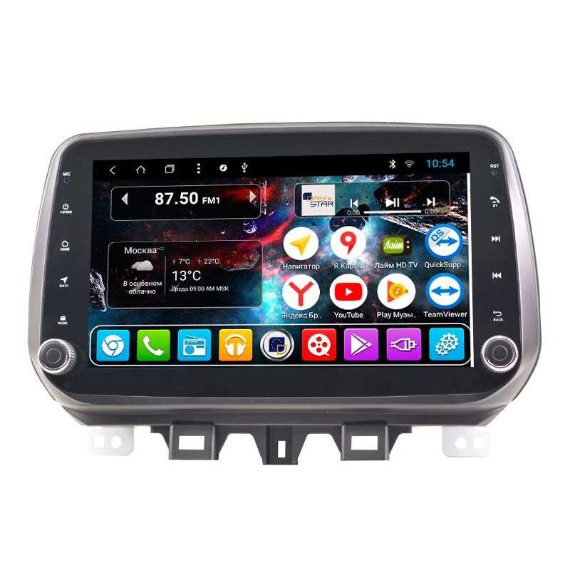 Штатная магнитола DayStar DS-8105HB Hyundai Tucson 2018+ ANDROID 8.1.0 (8 ядер, 2Gb ОЗУ, 32Gb памяти) (+ Камера заднего вида в подарок!) штатное головное устройство daystar ds 7004hd hyundai santa fe android 6