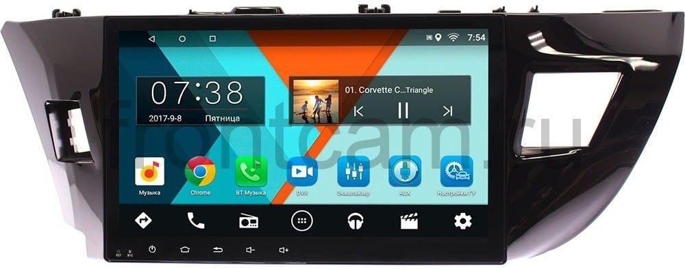 Штатная магнитола Toyota Corolla XI 2013-2015 Wide Media MT1005MF-2/16 на Android 7.1.1 (для авто без камеры) (+ Камера заднего вида в подарок!)