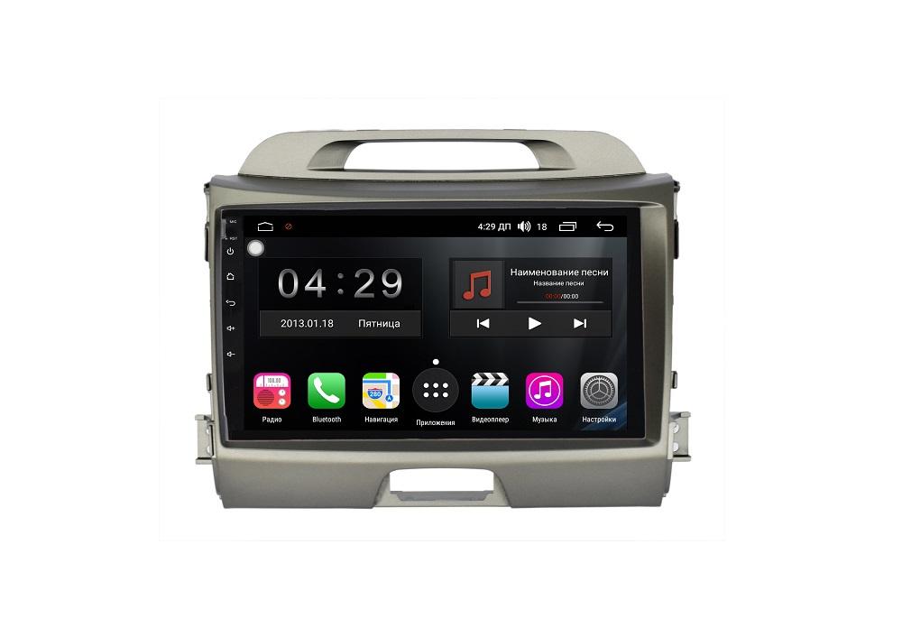Штатная магнитола FarCar s200+ для KIA Sportage на Android (A537R) автомагнитола phantom dvm 0717a kia sportage