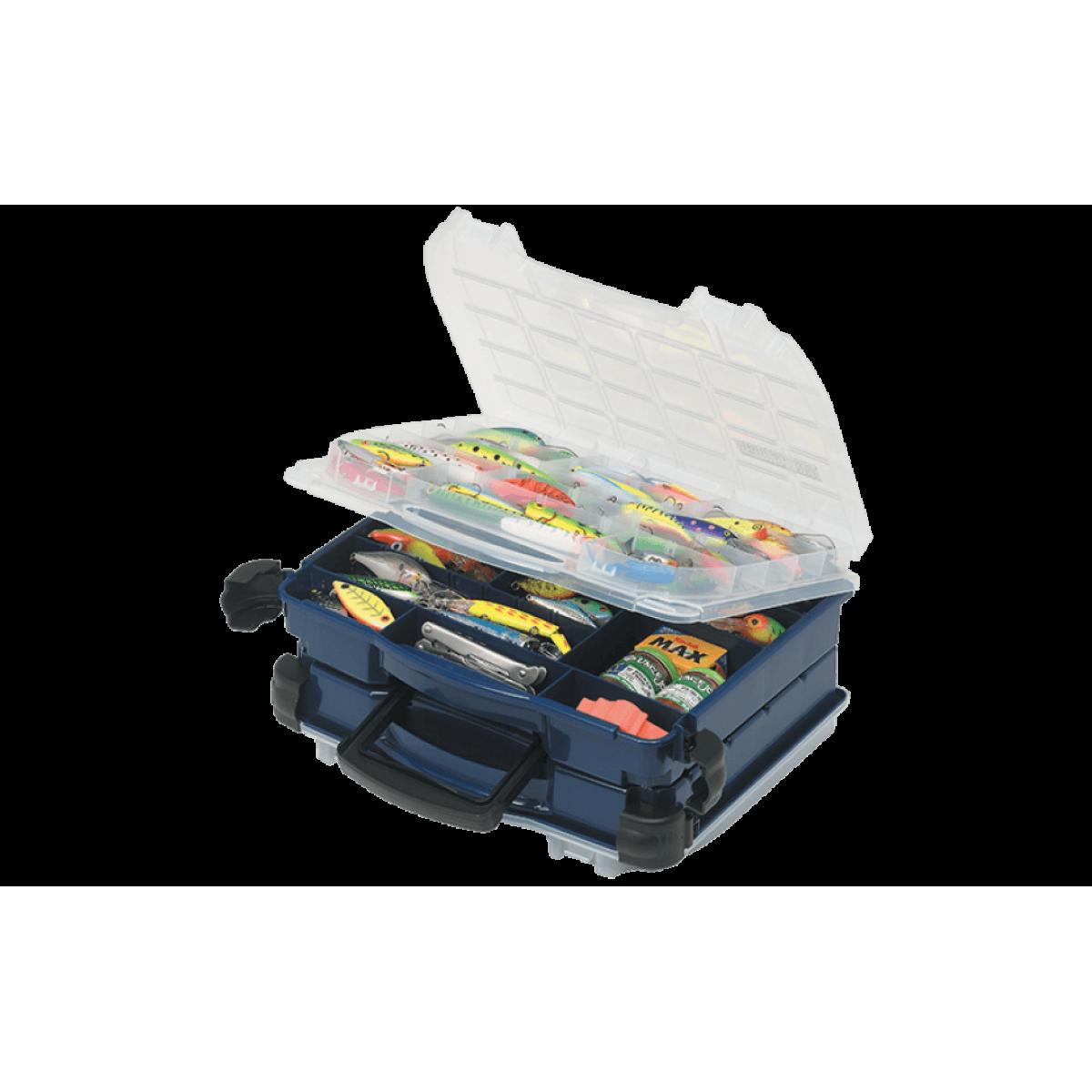 цена на Ящик Plano 3952-10 двухуровневый для приманок и аксессуаров 30-104 отсеков