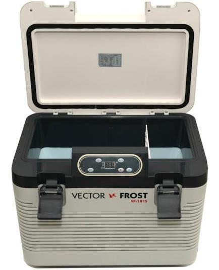 Термоэлектрический автохолодильник с сенсорным управлением Vector VF-181S (+ Аккумулятор холода в подарок!)