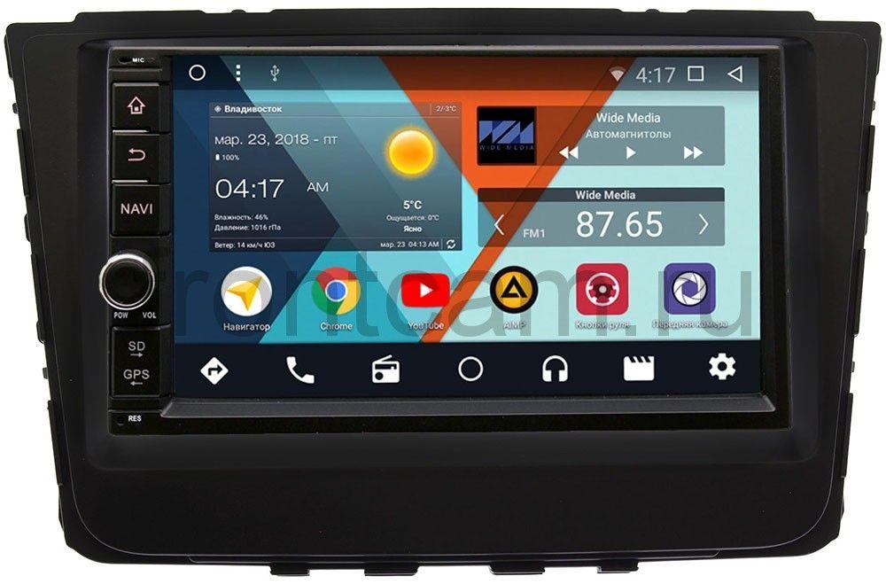 Штатная магнитола Wide Media WM-VS7A706NB-2/16-RP-HDI25-29 для Hyundai Creta 2016-2018 Android 7.1.2 (+ Камера заднего вида в подарок!) штатная магнитола для hyundai creta 2016 carmedia kd 8106 p3 7 на android 7 1