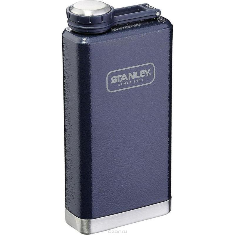 Фляга Stanley SS Flask Hammertone (0.236л) синяя