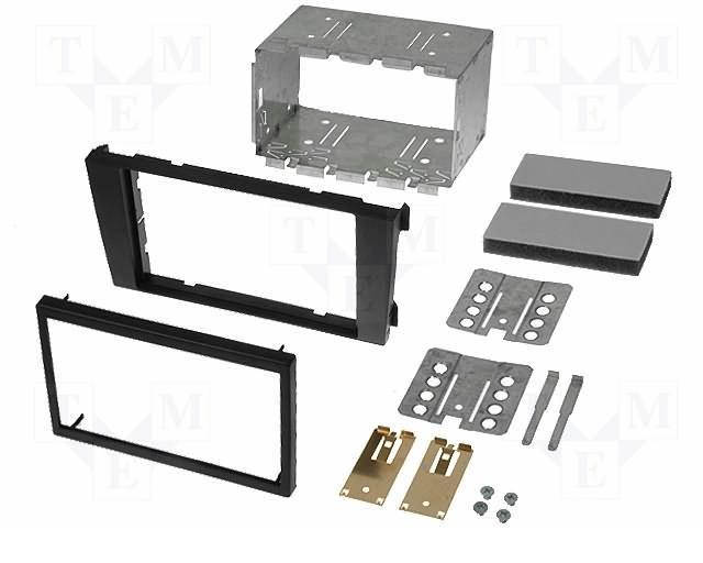 Переходная рамка Intro RAU6-03 для Audi A6 02+, Allroad 2DIN (салазки)