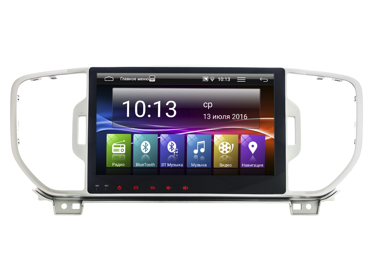 Штатная магнитола Incar AHR-1856 KIA Sportage (2016+) Android 5.1 new 10 1 inch tablet tft lcd display screen replacement panel v h10140a0fpc0 00 inner screen matrix 1024 600 free shipping
