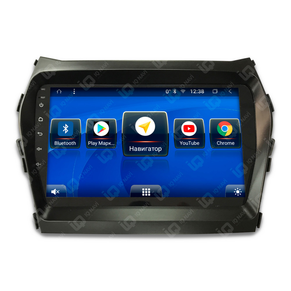 Автомагнитола IQ NAVI T58-1607CFHD Hyundai Santa Fe III (DM) (2012-2018) 9