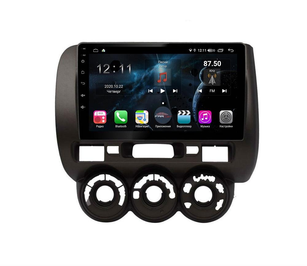 Штатная магнитола FarCar s400 для Honda Fit на Android (H1233R) (+ Камера заднего вида в подарок!)