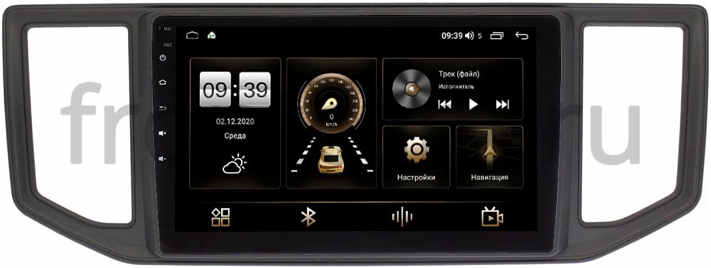 Штатная магнитола LeTrun 3799-10-785 для Volkswagen Crafter 2016-2021 на Android 10 (4/64, DSP, QLed) (+ Камера заднего вида в подарок!)