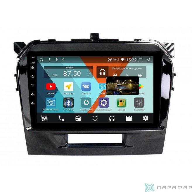 Штатная магнитола Parafar с IPS матрицей для Suzuki Vitara на Android 8.1.0 (PF996K)