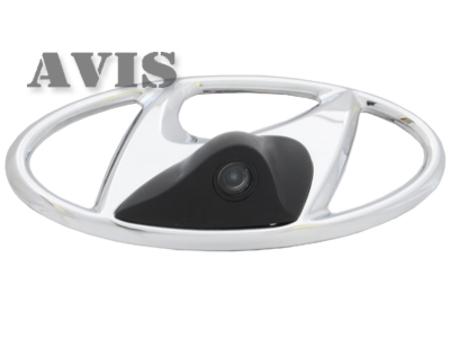 CCD штатная камера переднего вида AVIS AVS324CPR для HYUNDAI (#112) универсальная камера переднего вида avis avs311cpr 180 front multiview
