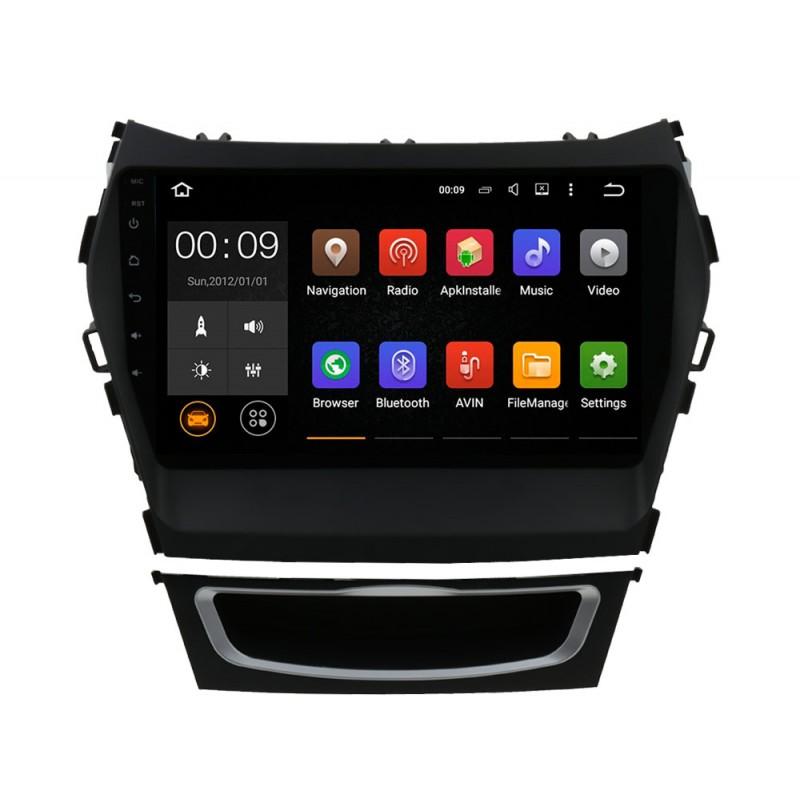 Штатная магнитола Roximo 4G RX-2019-N15 для Hyundai SantaFe 3 / ix45 (Android 6.0) (+ Камера заднего вида в подарок!)