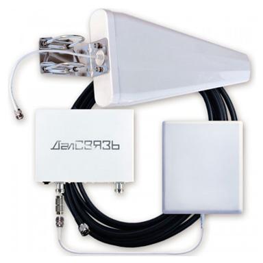 Усилитель сигнала сотовой связи и интернета ДалCвязь DS-900/2100-17 С2 репитер сигнала сотовой связи и интернета далcвязь ds 900 1800 2100 27