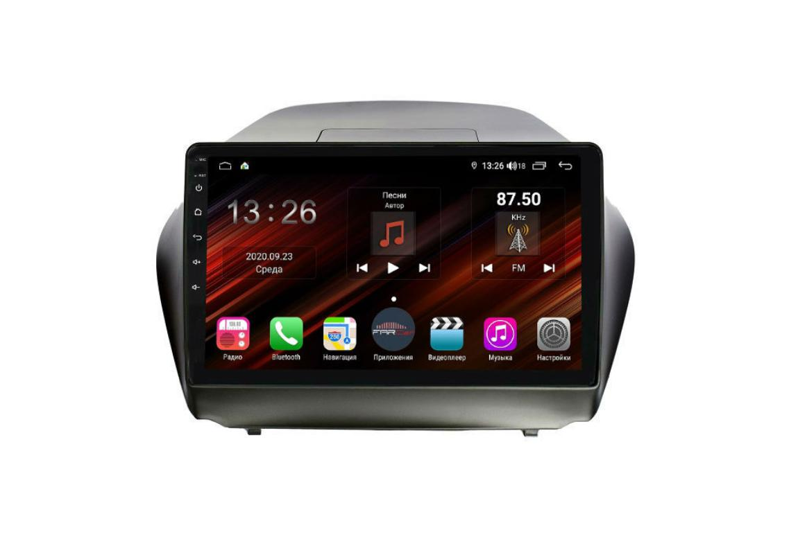Штатная магнитола FarCar s400 Super HD для Hyundai ix35 на Android (XH361R) (+ Камера заднего вида в подарок!)