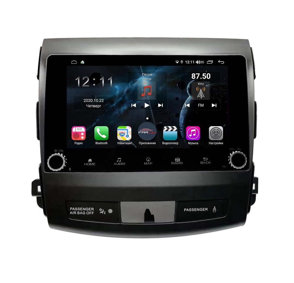 Магнитола FarCar s400 для Mitsubishi Outlander XL,Citroen C-Crosser, Peugeot 4007 на Android (H056RB) (+ Камера заднего вида в подарок!)