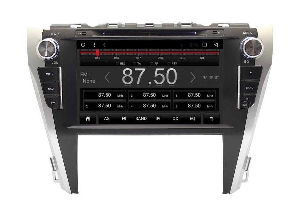 Штатная магнитола CARMEDIA KR-9005-T8 Toyota Camry V55 2014-2017 Android 7.1.2 (+ камера заднего вида) штатная магнитола carmedia kdo 1030 dvd toyota camry 11 2014 v55 page 4