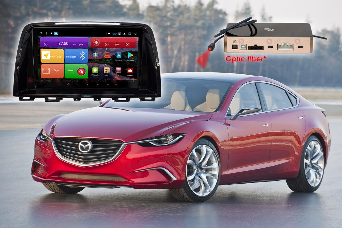 Автомагнитола для Mazda 6 (2012-2014 гг.) RedPower K 51012 R IPS DSP ANDROID 8+ (+ Камера заднего вида в подарок!)