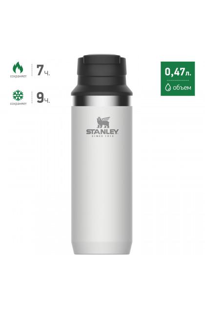 Термокружка STANLEY Adventure Switchback (0,47 л) Белая термокружка stanley go ceramivac 0 7l vacuum mug shale светло серый
